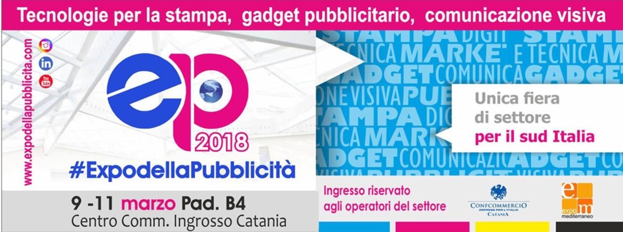 Locandina Expò Della Pubblicità 2018